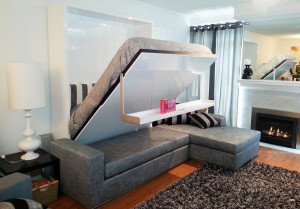 MurphySofa sectional wall bed mid - sold by expand furniture