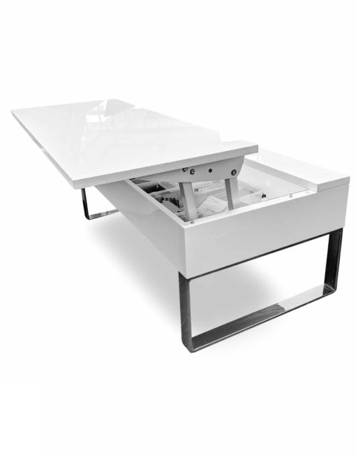 Boost-lifting-Coffee-table-in-white-gloss-storage-table-open