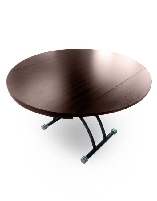 Chord-Round-Convertible-coffee-dining-table-in-walnut