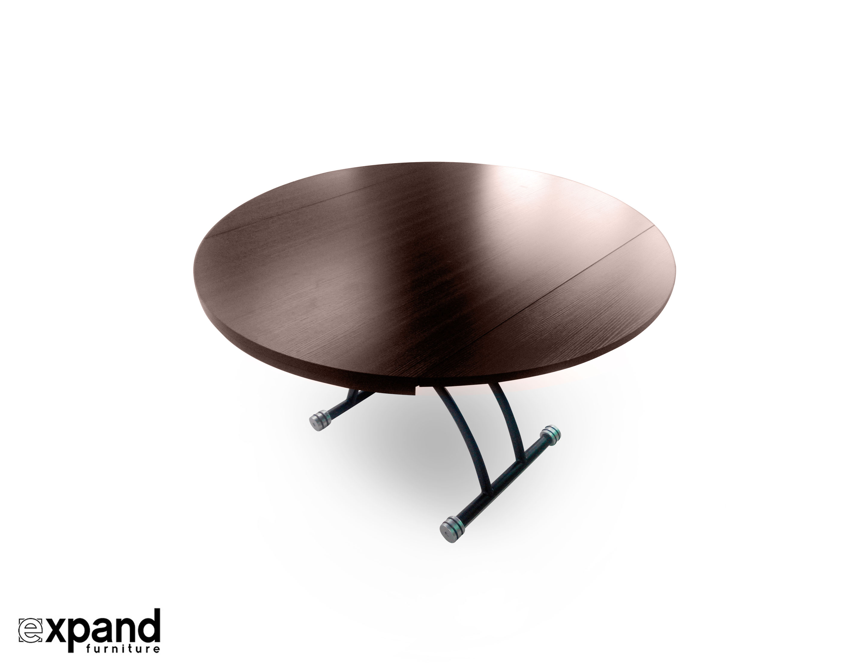 Lifting Round Coffee Dining Table