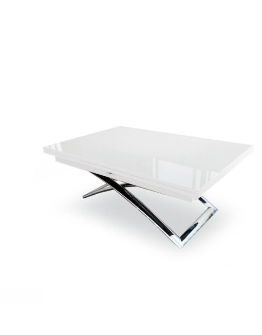Expand-Table-in-White-glossy-finish