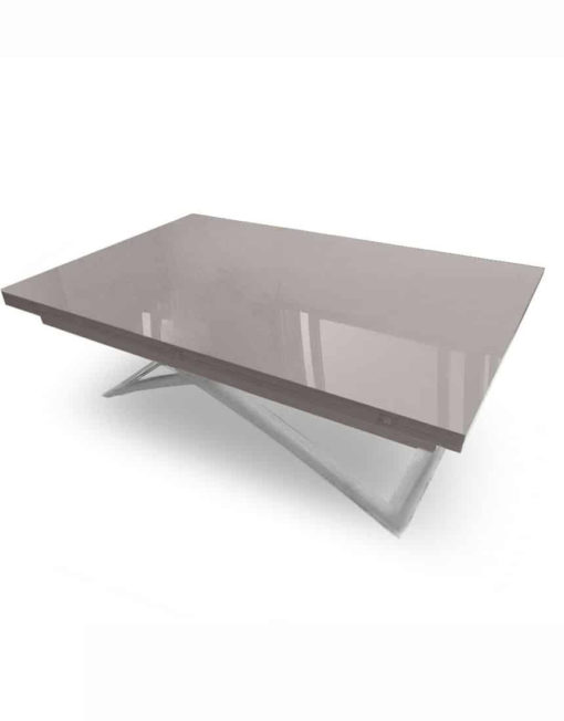 Expand-table-in-grey-glossy-coffee-and-silver-legs