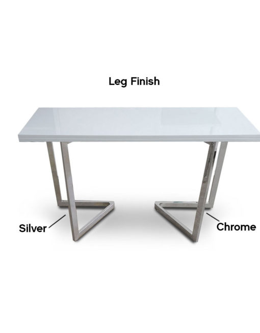 Flip-leg-finish-silver-flat-vs-chrome