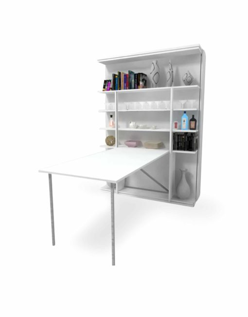 Italian-Revolving-Murphy-Bed-With-Table