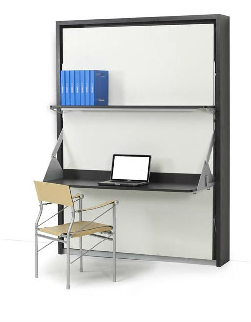 Italian Vertical Wall bed desk by Expand Furniture