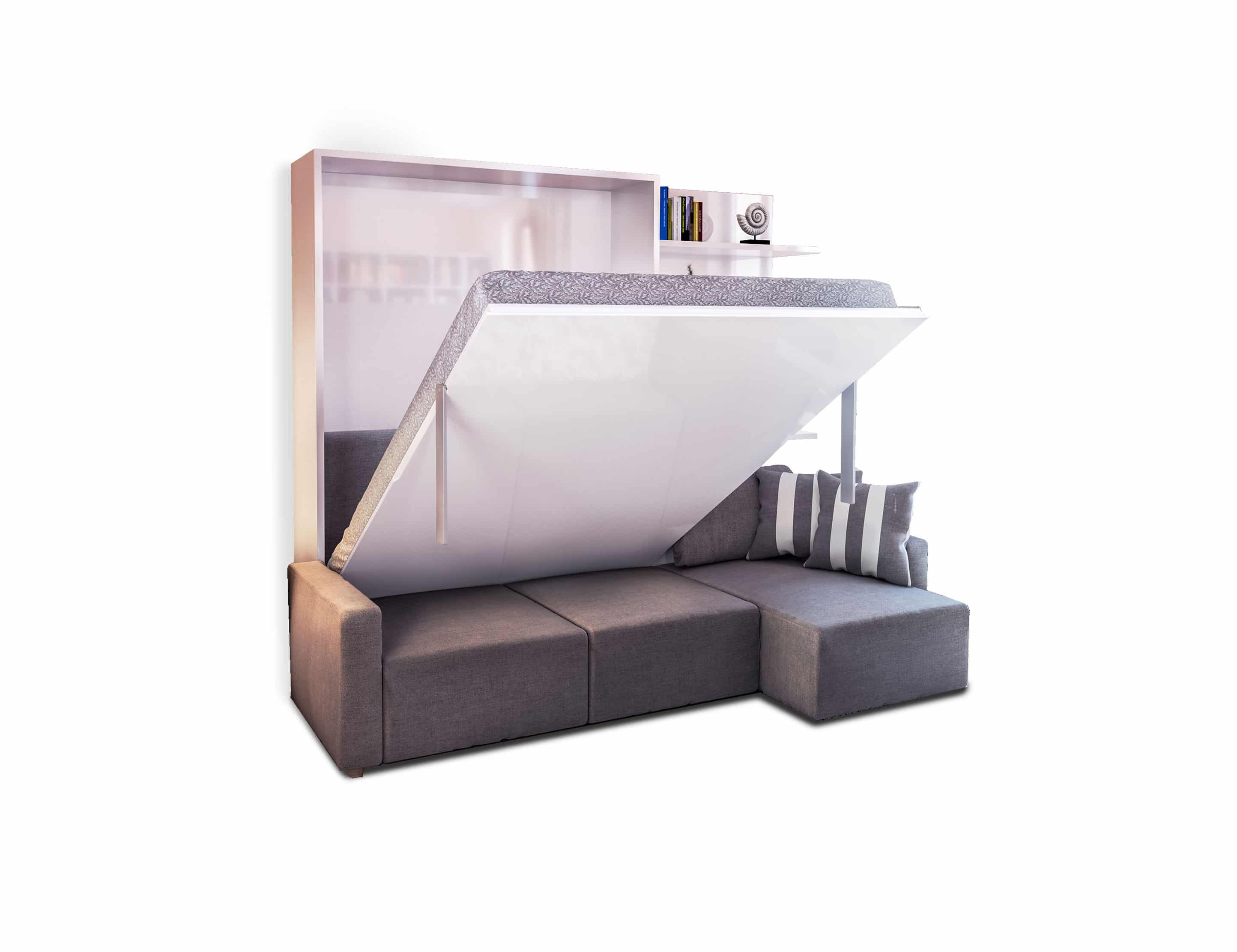 Clean Murphysofa Sectional Wall Bed Expand Furniture