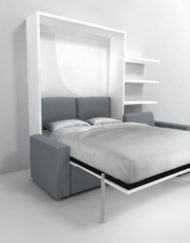 Expand furniture smarter wall beds tables space ideas Murphy bed over couch