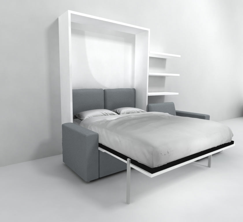 Murphy Bed With Sofa Combo Murphysofa Smart Furniture Wall Beds Transformable Tables And