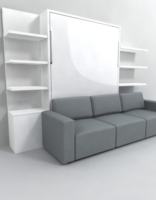 Clean murphysofa sectional wall bed expand furniture for Sofa bett kombination