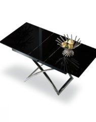 Small-black-glass-table-that-converts-into-large-extended-into-table