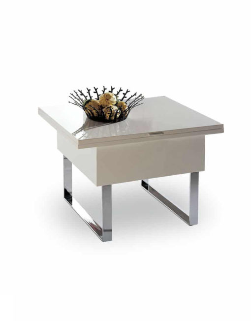 Space-saving-table-in-white-gloss-paint-1