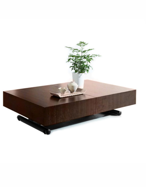 Walnut-wood-box-coffee-table-with-black-legs-spacesaving-table