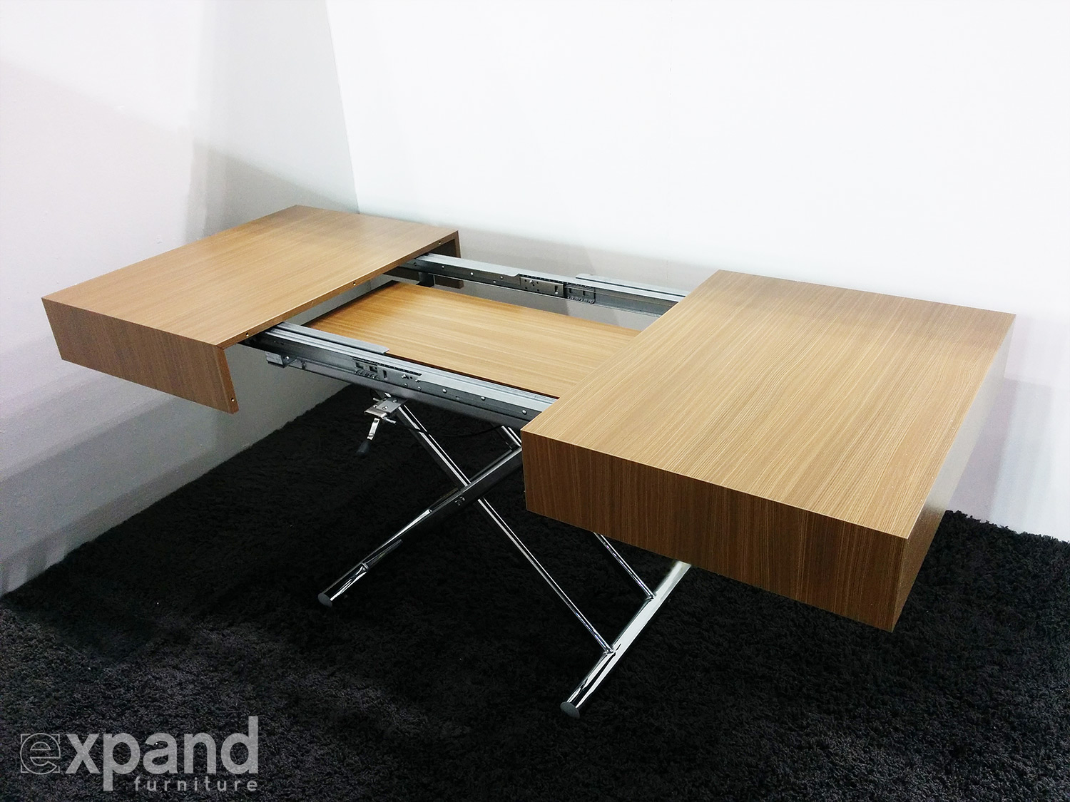 Transforming Box Coffee To Dining Table Expand Furniture