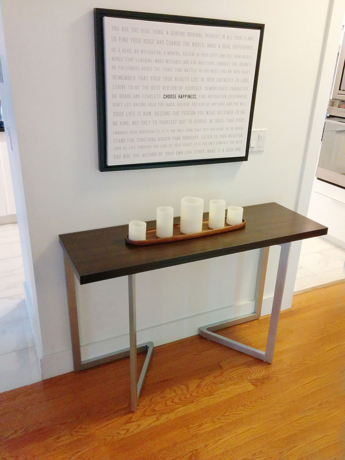 Transforming Console To Table Expand