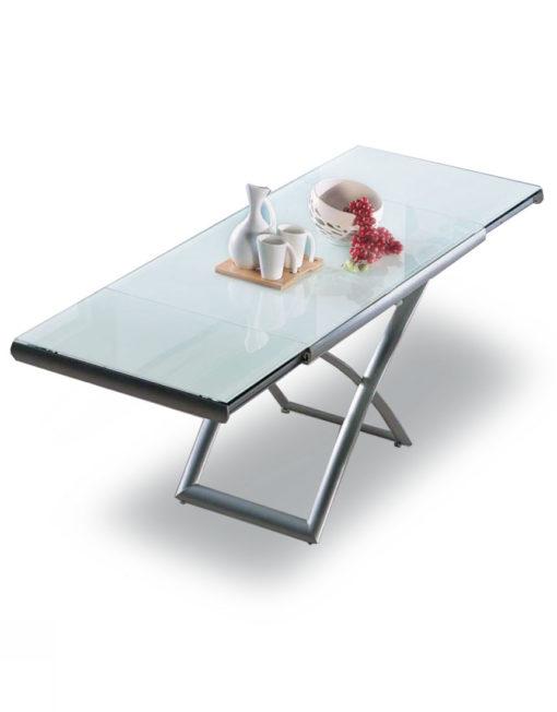 Horizon Glass extending table