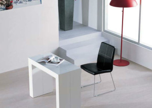junior giant compacted as a console table