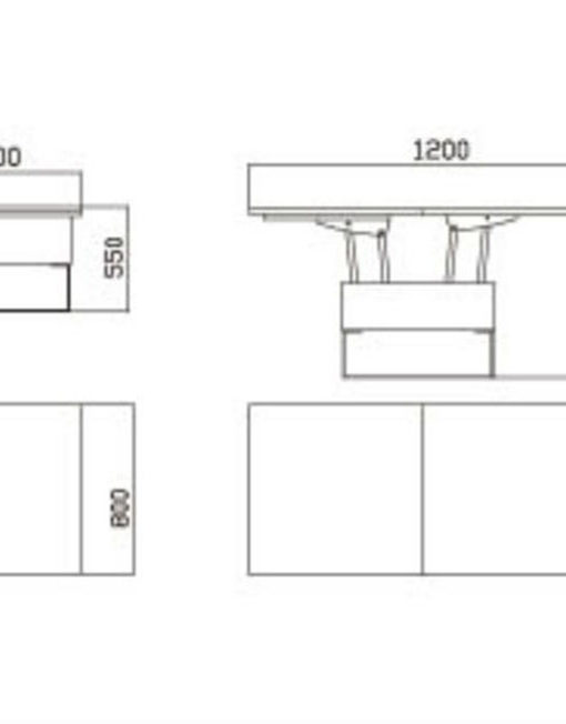space saving table dimensions from expand furniture
