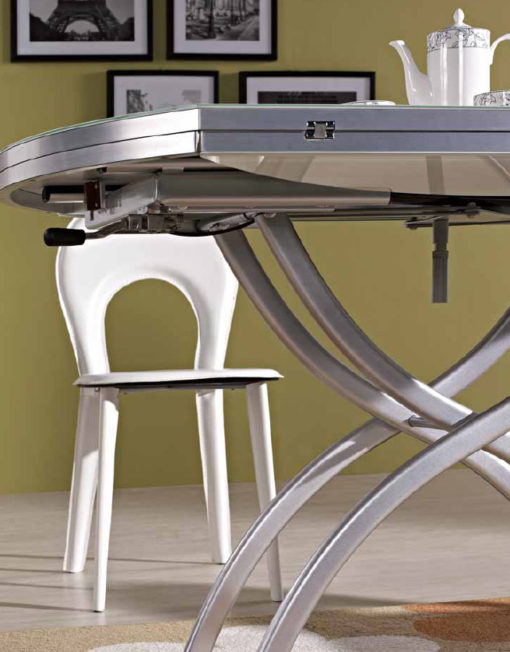 lifting round coffee dining table expand furniture. Black Bedroom Furniture Sets. Home Design Ideas