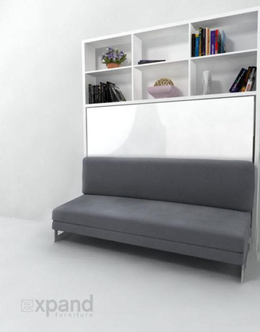 Horizontal Folding Beds : Italian wall bed sofa expand furniture