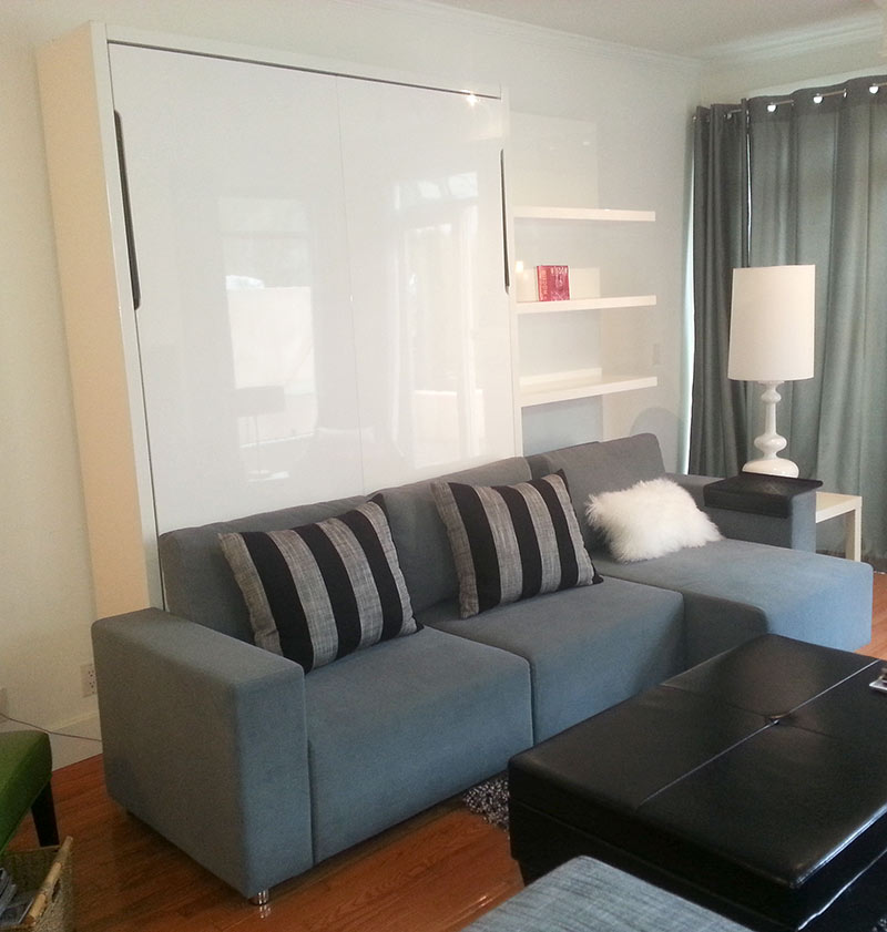 Murphy Bed Nfm: Clean MurphySofa Sectional Wall Bed