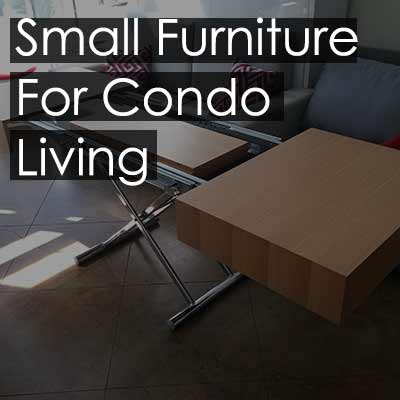 Small Furniture For Condo Living Blog