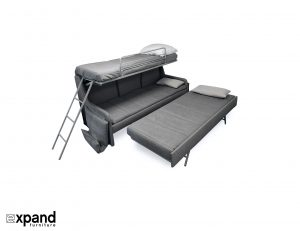 Italian-Sofa-bunk-bed-triple-sleep-system-expand-furniture