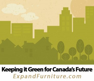 How space saving furniture can help keep Canada's future green