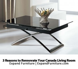 3 Reasons to Renovate Your Canada Living Room by Expand Furniture