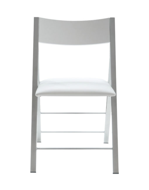 Nano chairs in white gloss