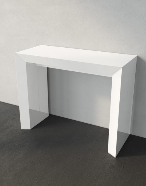 Elegante-Transformer-table-in-white-gloss-seats-10 - Copy