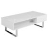 Occam-Left-glossy-white-dual-open-storage-lift-table-with-chrome-leg