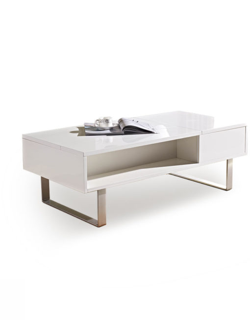 Occam-coffee-table-with-storage-in-gloss-white-  sc 1 st  Expand Furniture & Occam Coffee Table With Lift Top | Expand Furniture