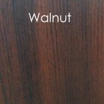 walnut finish panel example