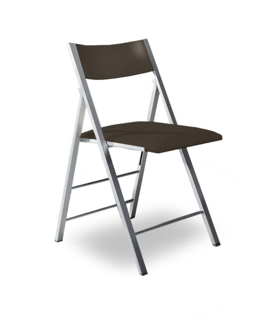 Ordinaire Nano Compact Folding Chair In Walnut Wood And