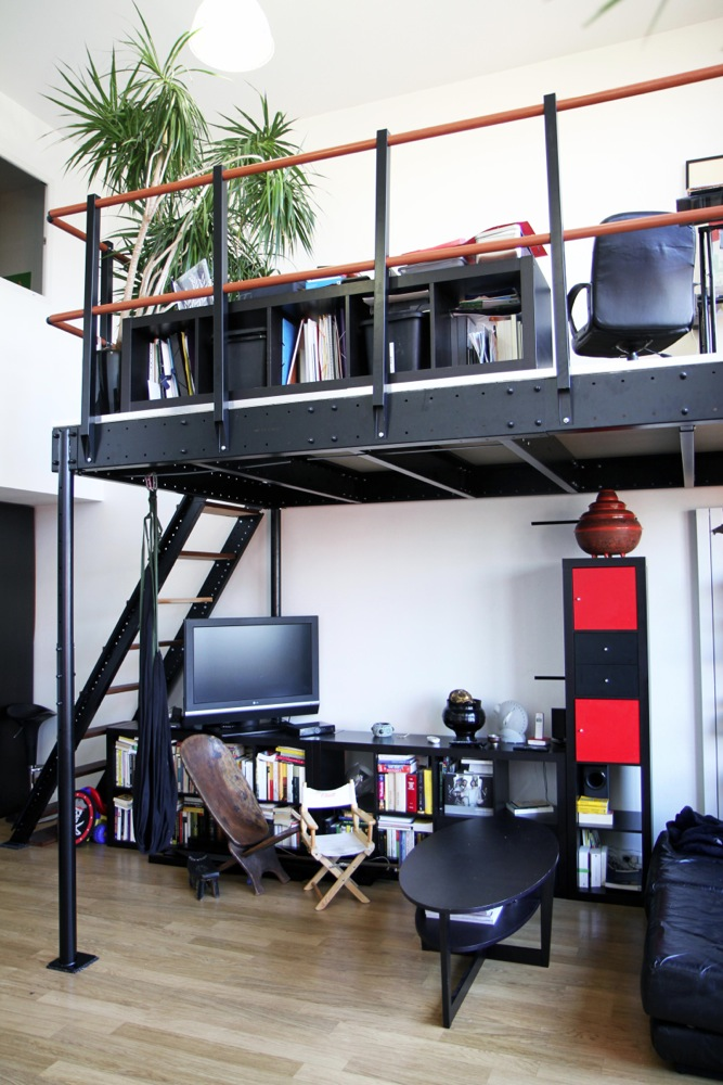 DIY Loft Bed T15 Kit in New York