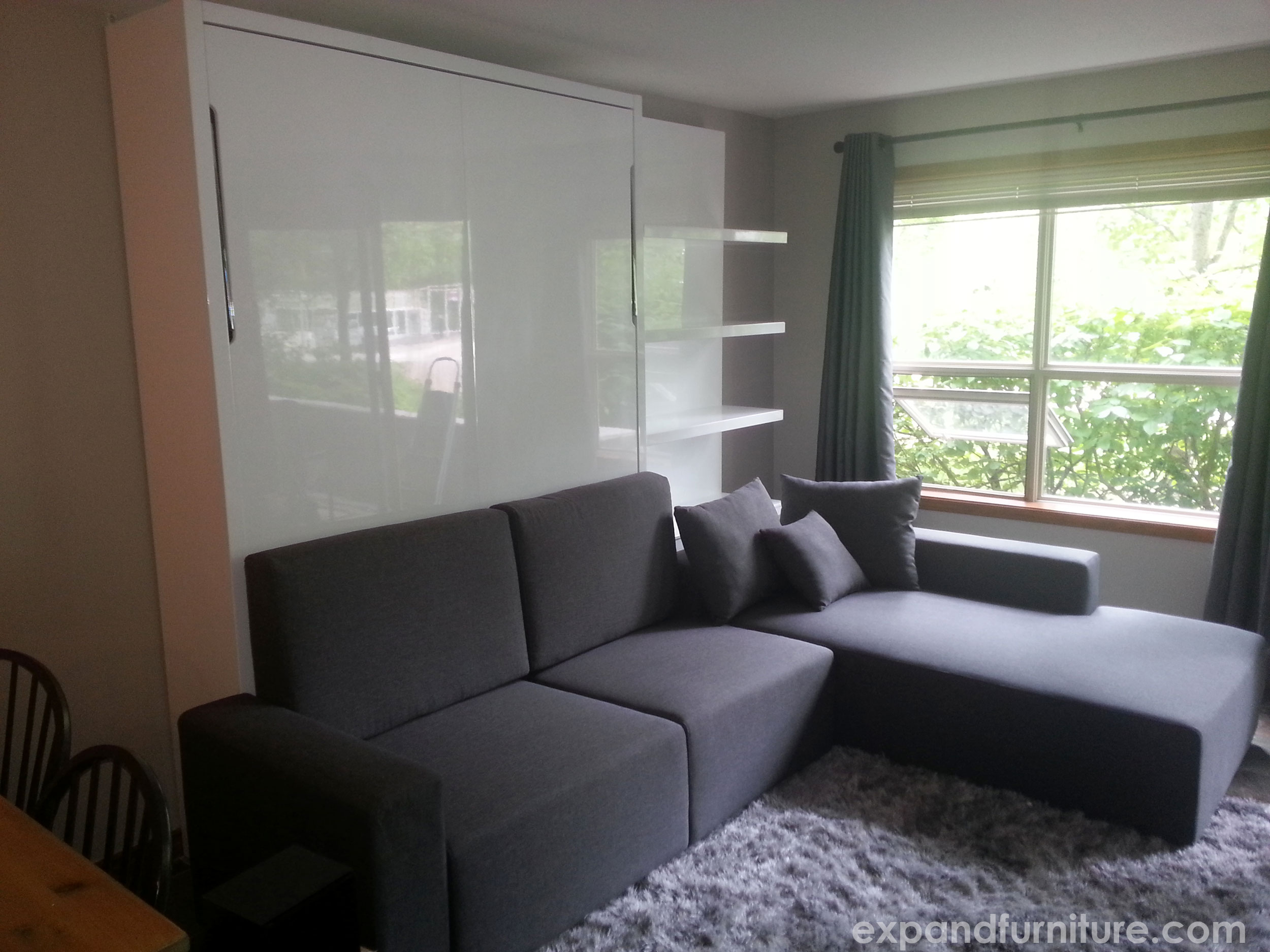 Smart Space Saving Ideas For Your Home Expand Furniture - Murphy bed couch ideas space savers