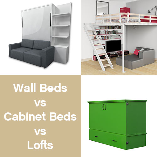 Wall Bed Vs Cabinet Bed Vs Loft Bed Expand Furniture