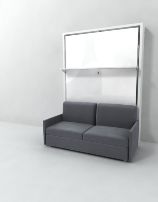 Expand-Furniture-Italian-Muprhy-Bed-over-Sofa-with-floating-shelf