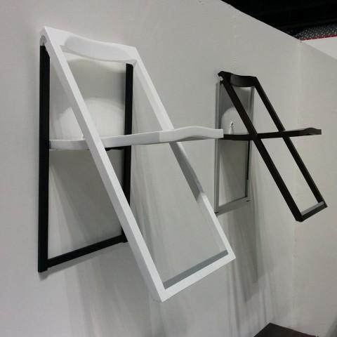 Pendulum folding chair in-air-like-art