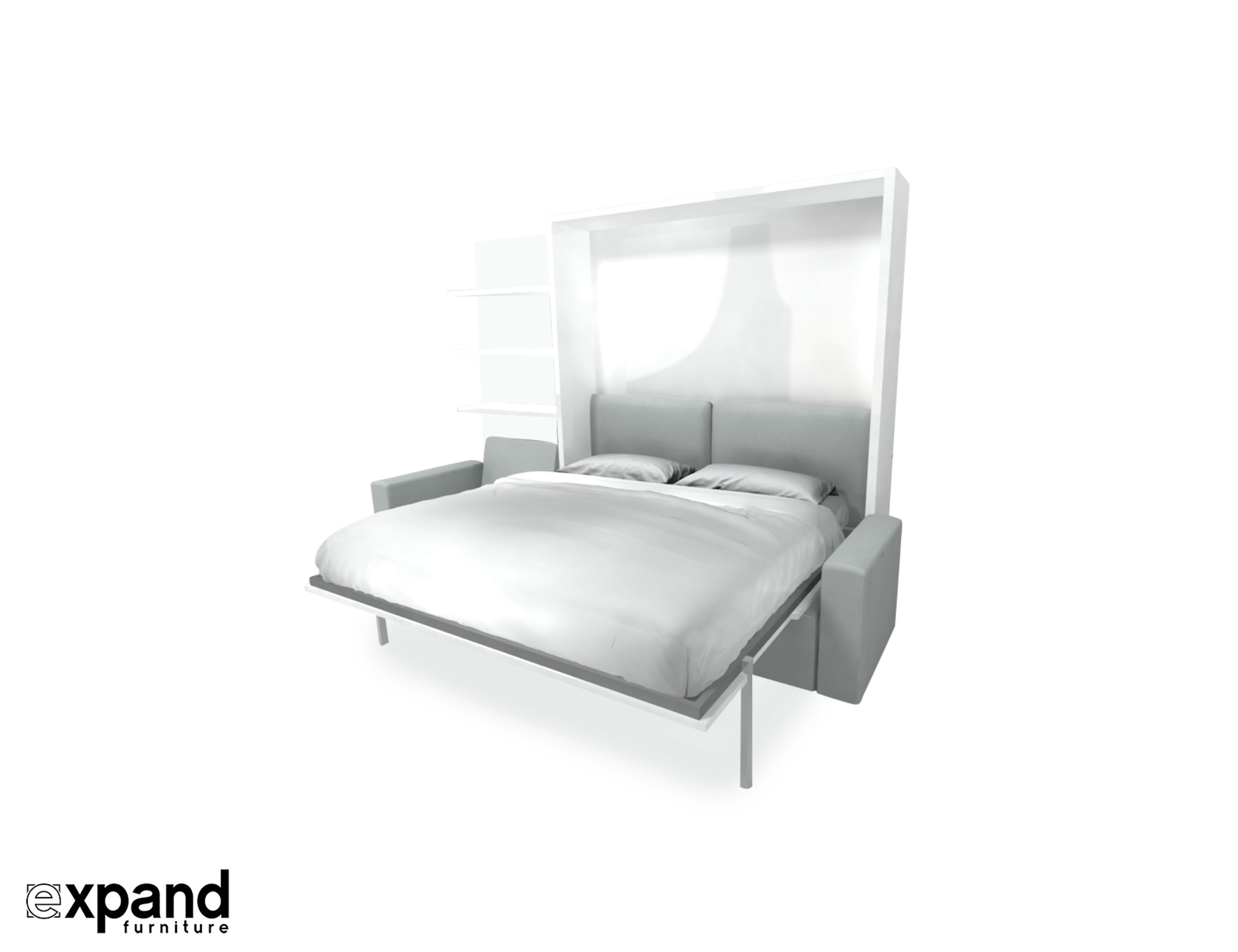 King Size Wall Bed With
