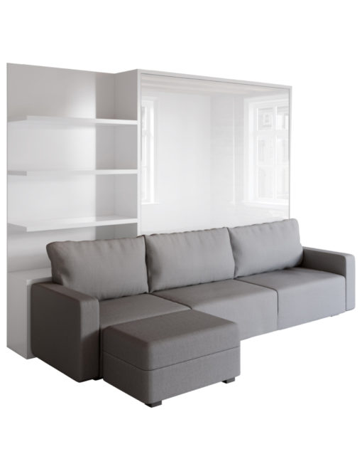 MurphySofa King sectional modular clean sofa wall bed combo