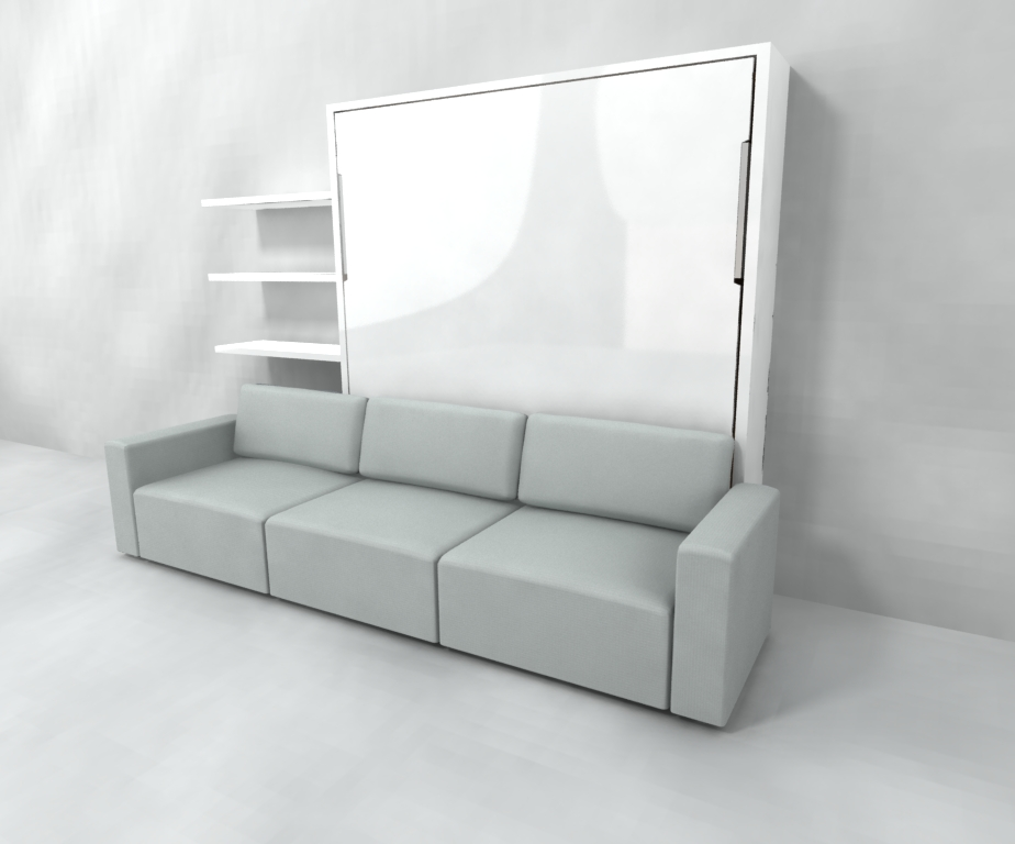 MurphySofa - King Wall Bed Sectional - Expand Furniture - Folding Tables, Smarter Wall Beds ...