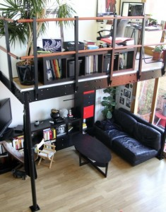 Maximize Chicago living space with a loft bed