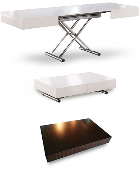 Adjustable Coffee Table Canada: Toronto Extending Space Saver Furniture