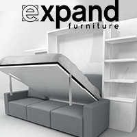 Beautiful sofa wall beds in Montreal by Expand Furniture