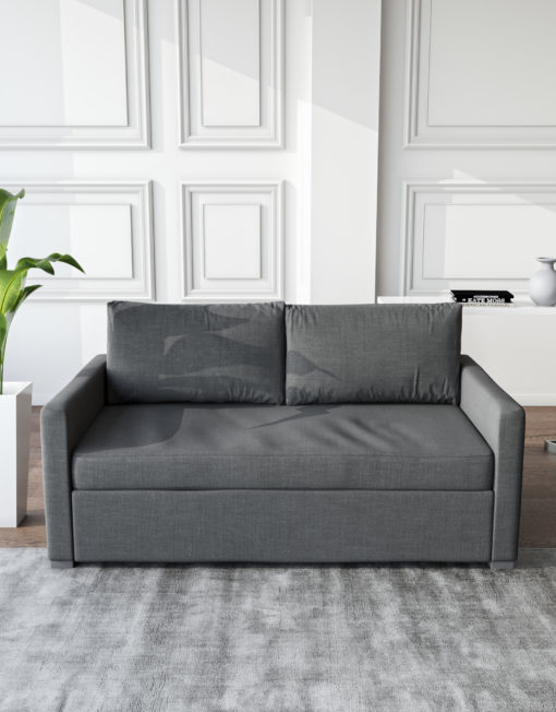 Harmony Sofa bed in Iron Grey in modern setting