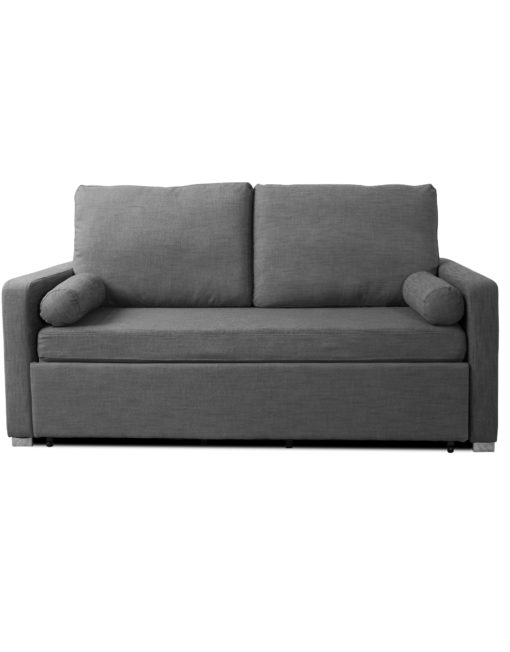 Harmony modern sofa bed with memory foam mattress and ultra compact space saving form factor