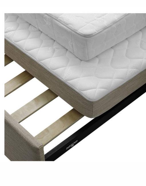 Renoir queen size memory foam sofa bed expand for Sofa bed memory foam mattress