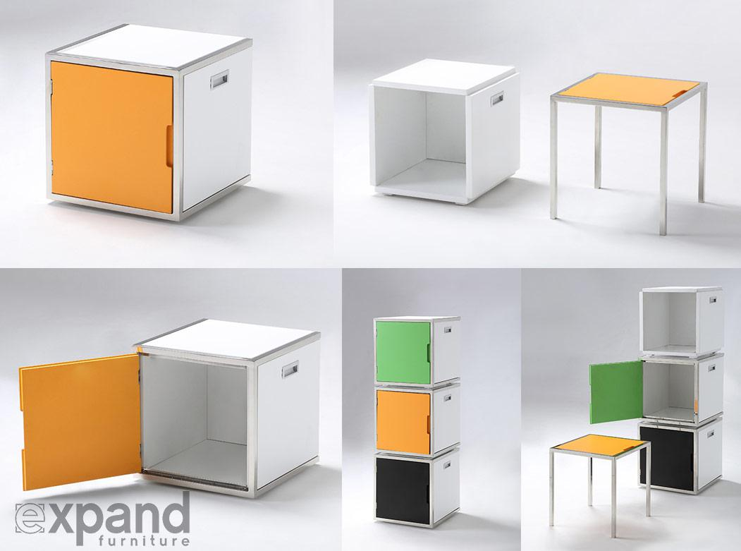 Hidden Storage Solutions Expand Furniture