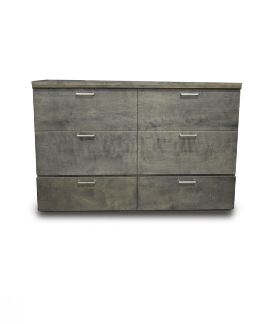 Denva-Cabinet-bed-in-grey-with-extra-handles-hidden-bed